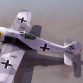 Fw 190 German Ww2 Fighter Aircraft