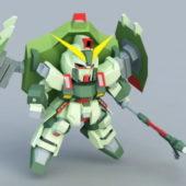 Forbidden Gundam Game Character