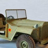 Russian Military Gaz-67 Jeep