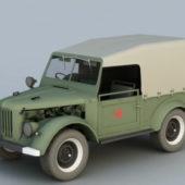 Russian Gaz-69 Light Truck