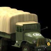Gmc Cckw Military Cargo Truck