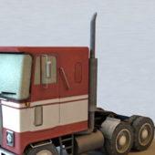 Gmc Semi Tractor Truck Vehicle
