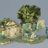 Garden Ruins Building