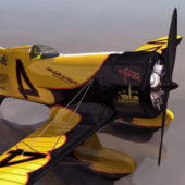 American Military Geebee Z Racing Aircraft