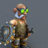 Gelbin Mekkatorque Game Character
