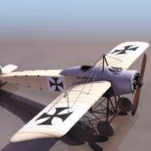 Ww2 German Fokker Eindecker Fighter