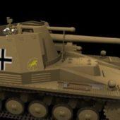 Weapon German Howitzer Wespe Tank