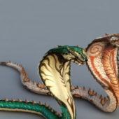 Giant Cobra Snake Monster