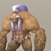 Character Giant Earth Monster