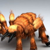 Giant Spider Animal Rigged