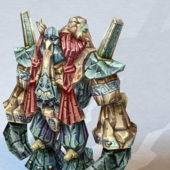 Character Giant Mountain Monster