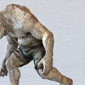 Giant Zombie Monster Character