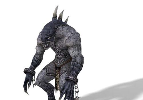 Gibberling Monster Character