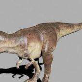 Prehistoric Giganotosaurus Dinosaur