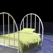 Home Furniture Girls Metal Bed