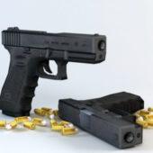 Weapon Glock-17 Pistol Gun
