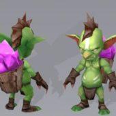 Goblin Miner Character