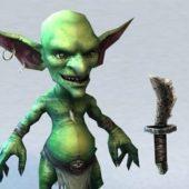 Alien Character Goblin Warrior
