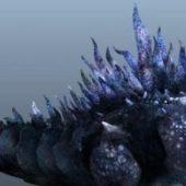 Godzilla Character Animated Rig