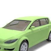 Green Golf Class Car