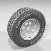 Goodyear Car Wheel