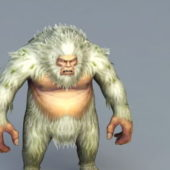 Game Character Gorilla Abominable Snowman
