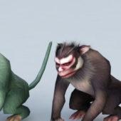Animal Gorilla Monkey