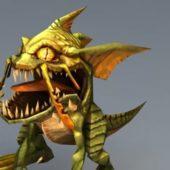Fantasy Animal Gorloc Monster