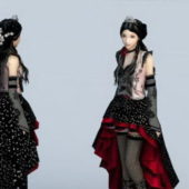 Character Gothic Beauty Girl