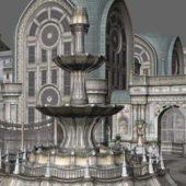 Gothic City Building