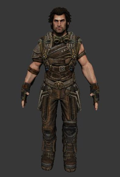 Grayson Hunt Game Character