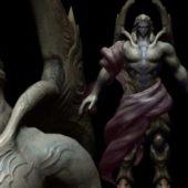 Game Character Greek God