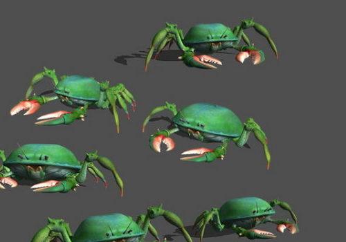 Green Crab Gaming Animal