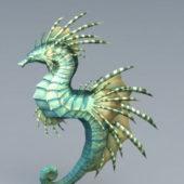 Green Seahorse Animal