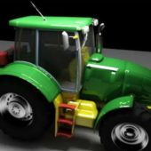 Green Farm Tractor