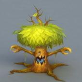 Green Treant Tree Monster