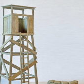 Military Guard Tower