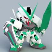 Cartoon Gundam Astray Game Character