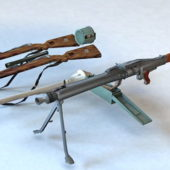 Military Guns Firearms Collection