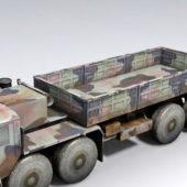 Armored Hemtt Military Truck