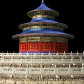 Hall Of Prayer Building Beijing