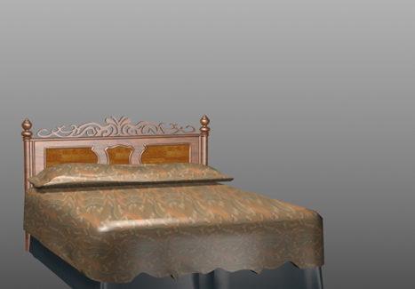 Hand-carved Bed Furniture