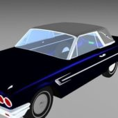 Classic Convertible Hardtop Car
