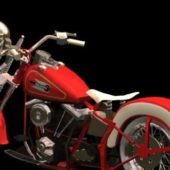 Motorcycle Harley-davidson Fl