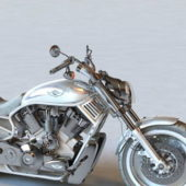 Harley Davidson Chopper Motorcycle