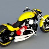 Harley Davidson Softail Motorcycle