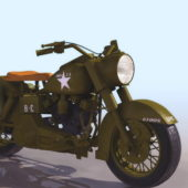 Harley Davidson Wla Motorcycle