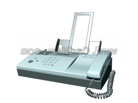 Electronic Harp Fax Machine