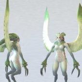 Character Harpy Creature