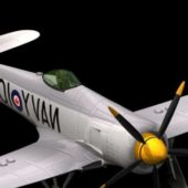 Military Hawker Sea Fighter Bomber Aircraft